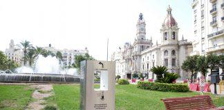 Valencia instala tres fuentes de agua filtrada y refrigerada para potenciar el uso de agua del grifo