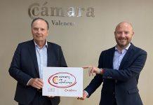 Cámara Valencia y Diputación implantarán un sello de comercio de confianza en la provincia de Valencia