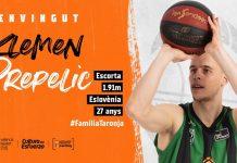 Valencia Basket alcanza un acuerdo con Klemen Prepelic para las próximas dos temporadas