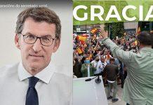 Feijo arrasa en Galicia y VOX entra en el Parlamento Vasco