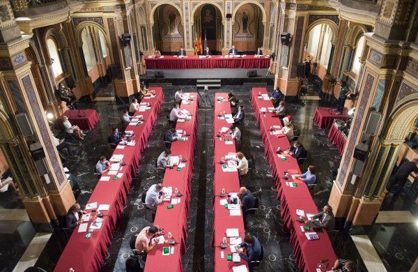 Pleno de la Diputación de Valencia. Foto Abulaila