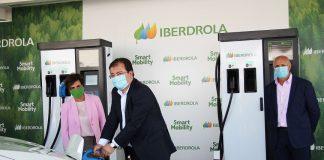 Iberdrola abre su corredor de recarga eléctrica súper rápida que une el centro y sur de la península