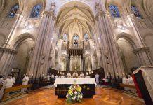 La Basílica de San Vicente Ferrer acoge la profesión solemne de seis frailes Dominicos