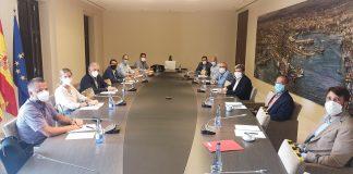 El presidente de la Autoridad Portuaria de Valencia se reúne con el secretario general de ANESCO