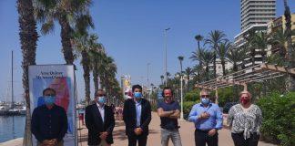 La exposición 'My Secret Garden' se expone en el Puerto de Alicante