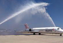 El aeropuerto de Castellón abre su primera conexión nacional con la puesta en marcha de la nueva ruta a Bilbao