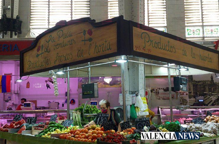 Histories del Mercat: La Paca , verdures i productes frescos de l'horta