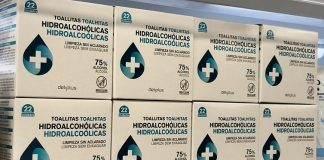 Mercadona incorpora a su surtido toallitas hidroalcohólicas para manos y vende 12.000 unidades