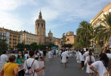 Los MIR vuelven a manifestarse ante la Generalitat Valenciana porque Sanitat no quiere negociar con ellos
