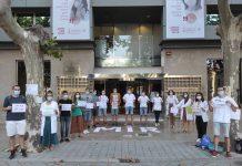 MIR protestas Conselleria de Sanidad