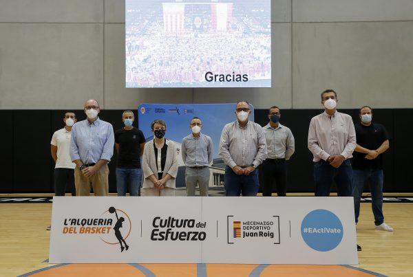 3er Aniversario de 'Alquería del Basket . Foto (Miguel Ángel Polo)