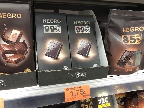 La nueva tableta 99% cacao de hacendado vende más de 8.000 unidades al día
