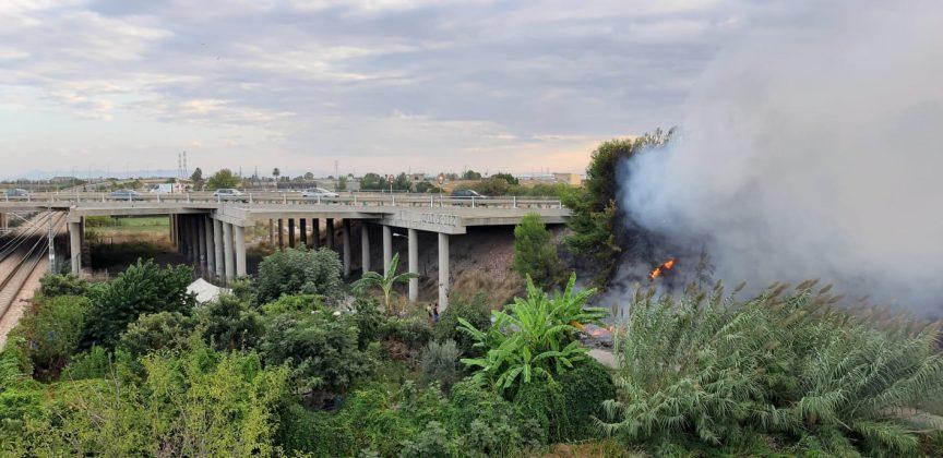 Segundo incendio en el entorno de La Punta por el abandono del lugar