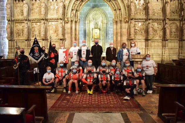 Éxito en la I Peregrinación Ciclista Corona de Aragón