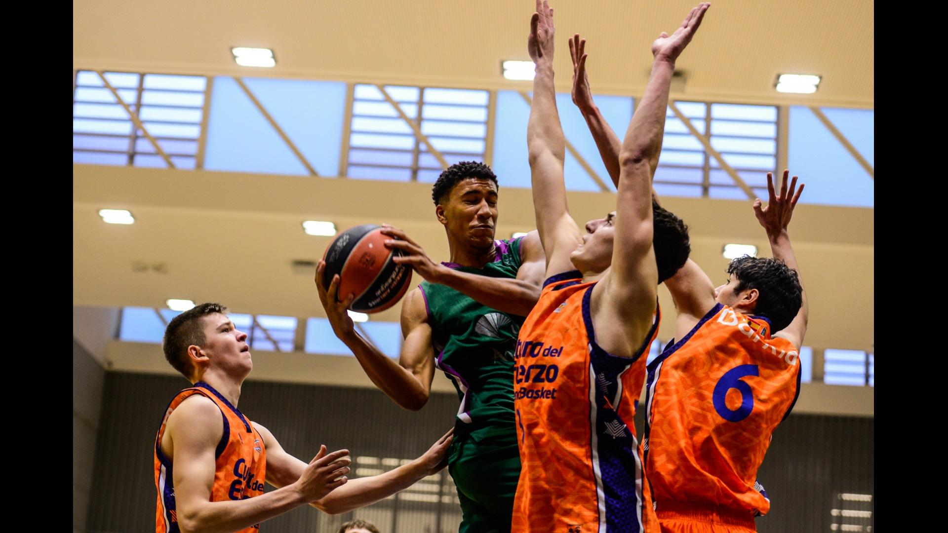 atención Abreviatura Oh querido  Valencia Basket cae en su debut en el Euroleague Basketball Adidas NGT