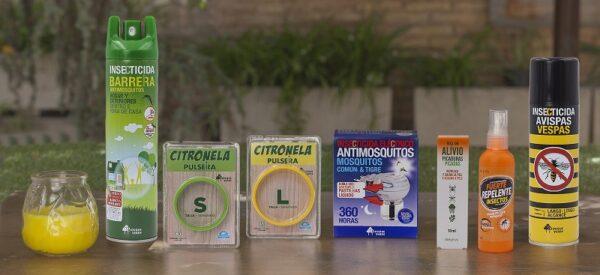 Surtido de insecticidas y repelentes, disponibles en el lineal de Mercadona