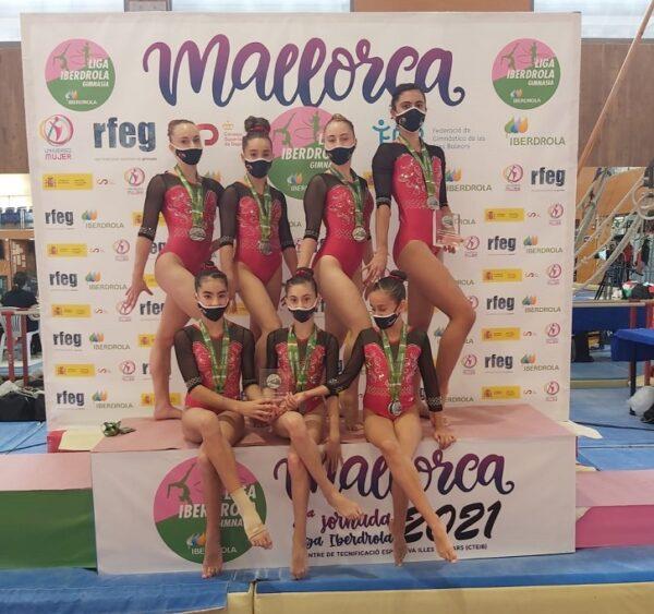 Laura Casabuena, Sara Pinilla, Mar Batanas García de Mateos, Leire Vicente, Irene Ristoiu y Nuria Andreu