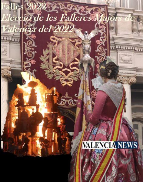 Sigue en Directo a las 18:55h la elección de las Falleras Mayores de Valencia 2022